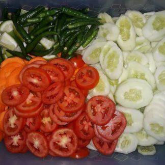 piece salad desh catering