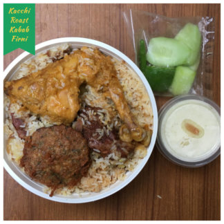 kacchi biryani chicken roast kabab firni desh catering service dhaka