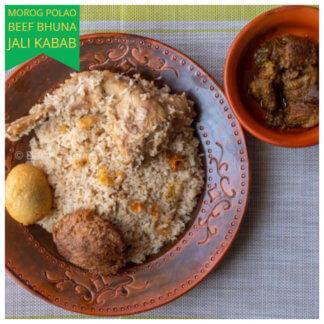 morog polao beef bhuna jali kabab desh catering dhaka